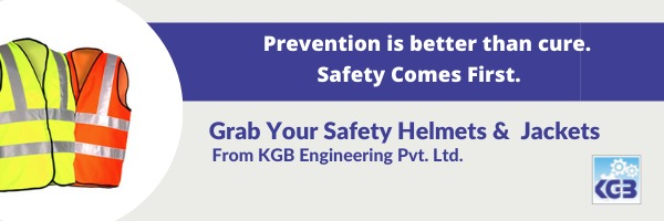 safety jackets and helmets