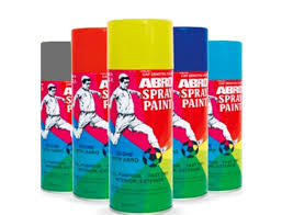 aerosol paint spray abro score with abro